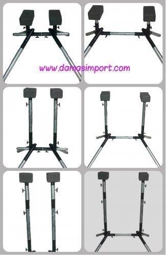 Vendemos verticaleros desmontable y regulable para acrobacia